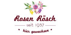 Das im Frühjahr 2016 geborene Logo der Traditionsgärtnerei Rosen Rösch