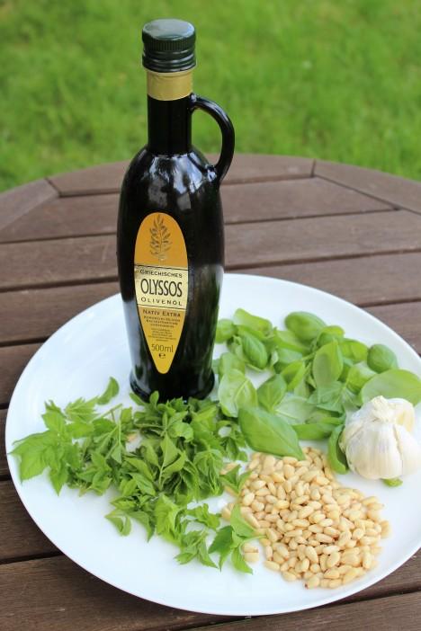 Pesto_Basilikum-Giersch-Knoblauch-Olivenöl-Pinienkerne(5)