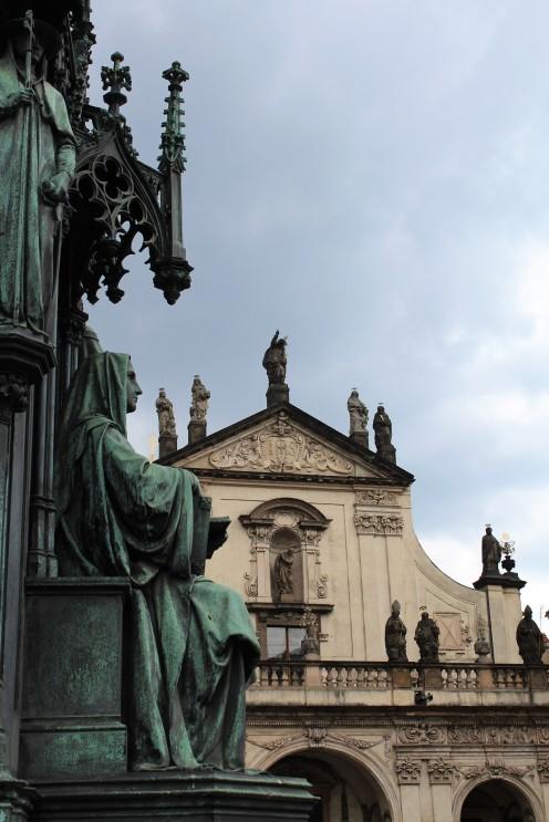 18-05_Prag_Fassade Kaiser Karl IV Uni(02)
