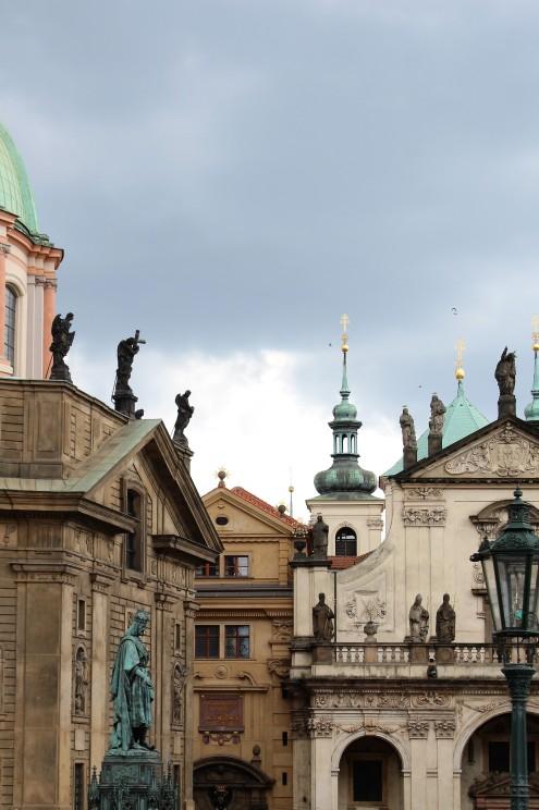 18-05_Prag_Fassade Kaiser Karl IV Uni(08)
